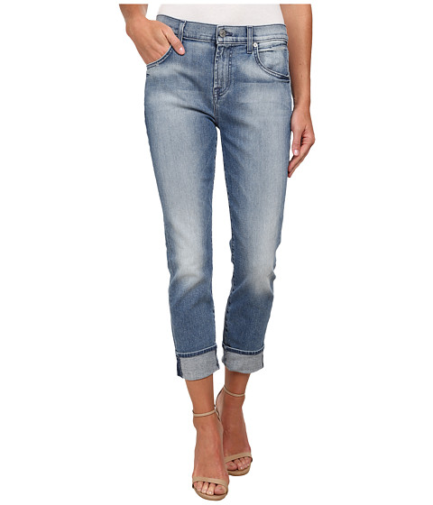 Imbracaminte Femei 7 For All Mankind The Relaxed Skinny in Light Blue Hue Light Blue Hue