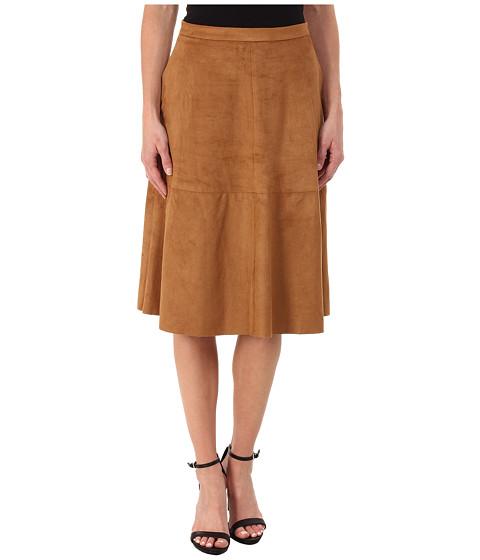 Imbracaminte Femei Vince Camuto Faux Suede Midi Skirt Cedar