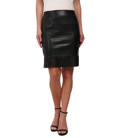 Imbracaminte Femei Karen Kane Fringe Pencil Skirt Black