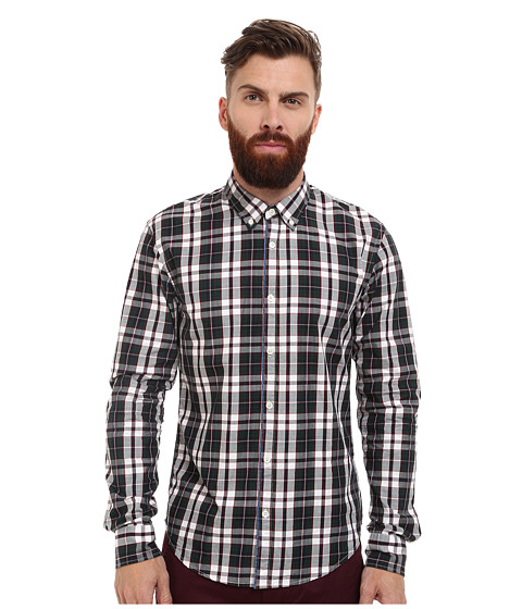 Imbracaminte Barbati Scotch Soda Long Sleeve Multicolor Twill Check Shirt Multi