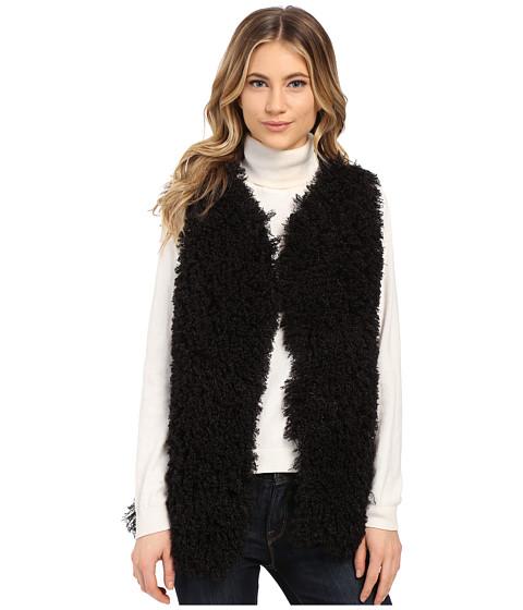 Imbracaminte Femei Gabriella Rocha Lucy Faux Fur Vest Black