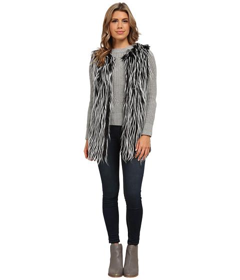 Imbracaminte Femei Gabriella Rocha Katrina Faux Fur Vest BlackGrey