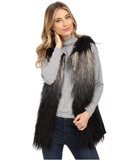 Imbracaminte Femei Gabriella Rocha Katrina Faux Fur Vest GreyBlack Ombre
