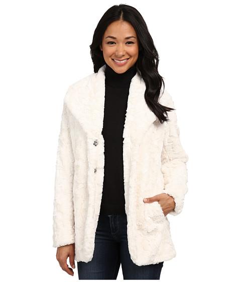 Imbracaminte Femei Karen Kane Faux Fur Jacket Cream