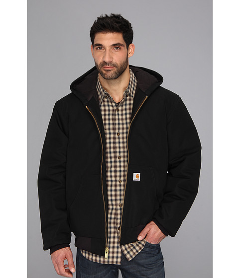 Imbracaminte Barbati Carhartt Big amp Tall QFL Duck Active Jacket Black