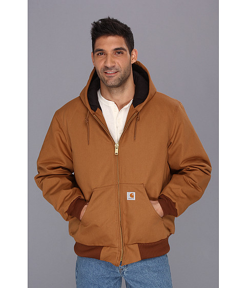 Imbracaminte Barbati Carhartt Big amp Tall QFL Duck Active Jacket Carhartt Brown