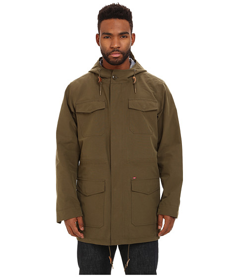 Imbracaminte Barbati Obey Stiller Jacket Olive Night
