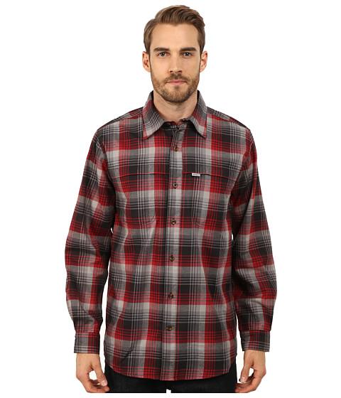 Imbracaminte Barbati Carhartt Force Reydell Long Sleeve Shirt Dark Crimson