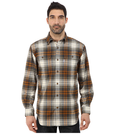 Imbracaminte Barbati Carhartt Hubbard Plaid Shirt Carhartt Brown
