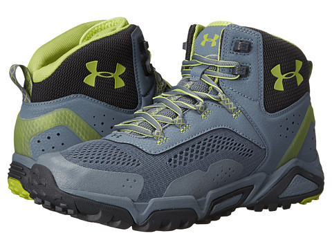 Incaltaminte Barbati Under Armour UA Glenrock Mid GravelStealth GrayZombie Green