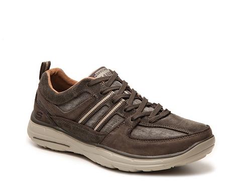 Incaltaminte Barbati SKECHERS Relaxed Fit Soman Sneaker Charcoal