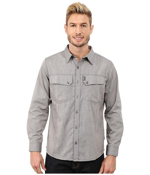 Imbracaminte Barbati Jack Wolfskin Gander Long Sleeve Shirt Dark Steel
