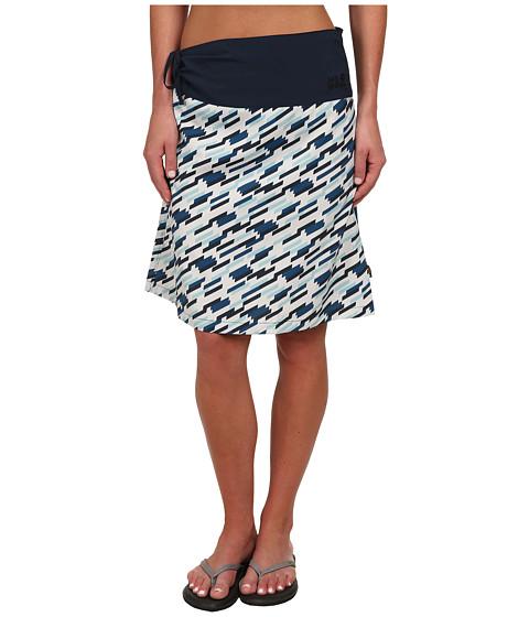 Imbracaminte Femei Jack Wolfskin Beaumont Skirt Moroccan Blue All Over