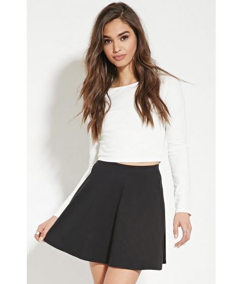 Imbracaminte Femei Forever21 Mini Skater Skirt Black