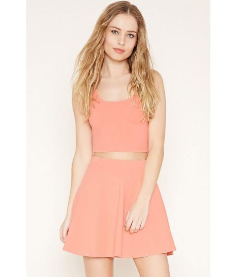 Imbracaminte Femei Forever21 Mini Skater Skirt Light orange