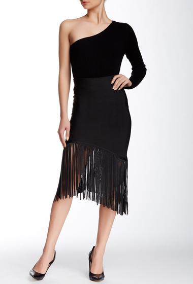 Imbracaminte Femei Gracia Fringe Bodycon Skirt Black