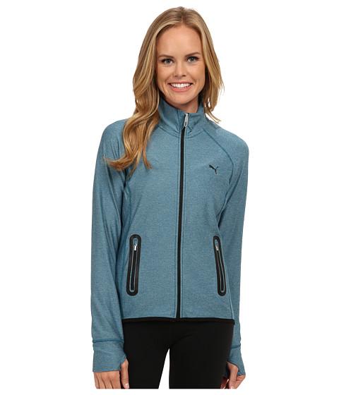 Imbracaminte Femei PUMA WT PWRSHAPE Jacket Blue Coral