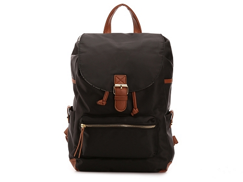 Genti Femei Madden Girl Madden Girl Rustic Backpack BlackCognac