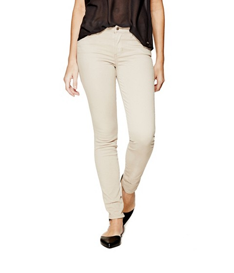 Imbracaminte Femei GUESS Mid-Rise Curve X Jeans in Sateen Finish romany dark chino