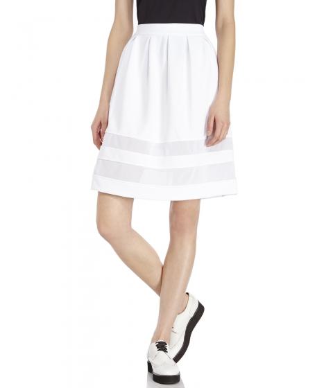 Imbracaminte Femei XOXO Mesh Insert Skirt White