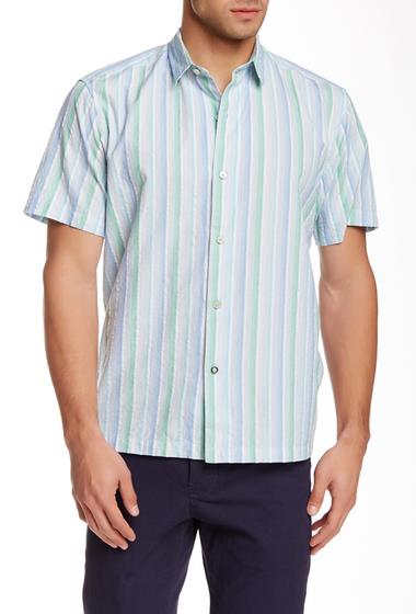 Imbracaminte Barbati Tommy Bahama Napoli Stripe Short Sleeve Shirt BENGAL BLU
