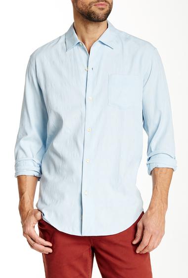 Imbracaminte Barbati Tommy Bahama Skyscape Long Sleeve Regular Fit Shirt ARCTIC ICE