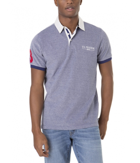 Imbracaminte Barbati US Polo Assn Two Tone Polo Shirt DODGER BLUE