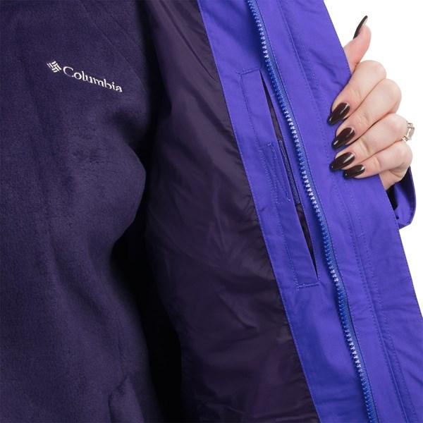Imbracaminte Femei Columbia Blazing Star Interchange Jacket - 3-in-1 (For Plus Size Women) ATOLLNOCTURNAL (02)