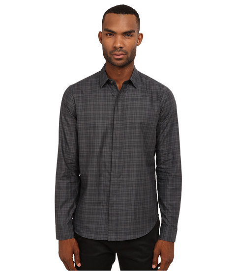 Imbracaminte Barbati Theory Zack FFDaulton Button Up Deep Titanium