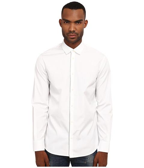 Imbracaminte Barbati DSQUARED2 Front Zip Detail Shirt White