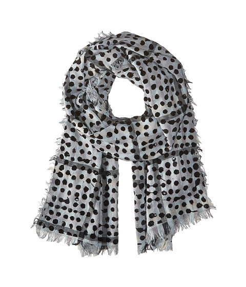 Accesorii Femei Marc by Marc Jacobs Painted Dot Gingham Scarf Black Multi