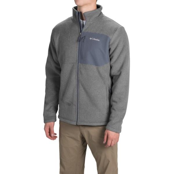 Imbracaminte Barbati Columbia Teton Peak Fleece Jacket BUFFALOGRAPHITE (03)