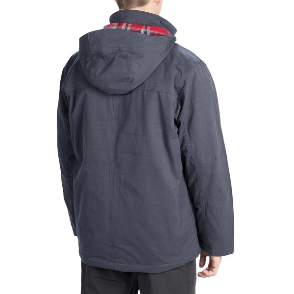 Imbracaminte Barbati Columbia Canyon Cross Jacket - Insulated INDIA INK (01)