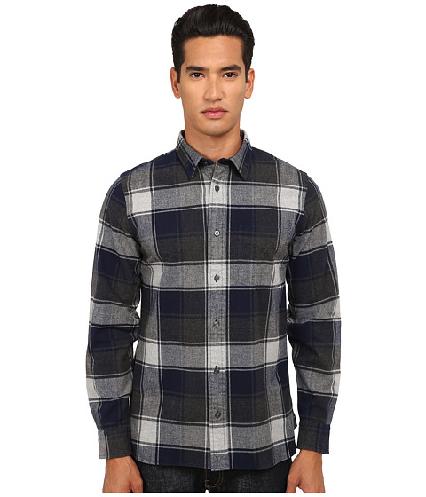 Imbracaminte Barbati Jack Spade Gillham Flannel Plaid Shirt Navy