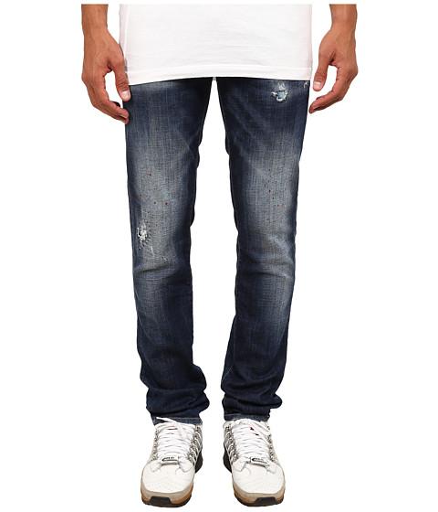 Imbracaminte Barbati DSQUARED2 Spotted Slim Jeans BlueMud