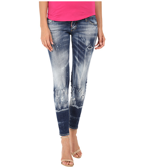 Imbracaminte Femei DSQUARED2 Skinny Jeans Blue