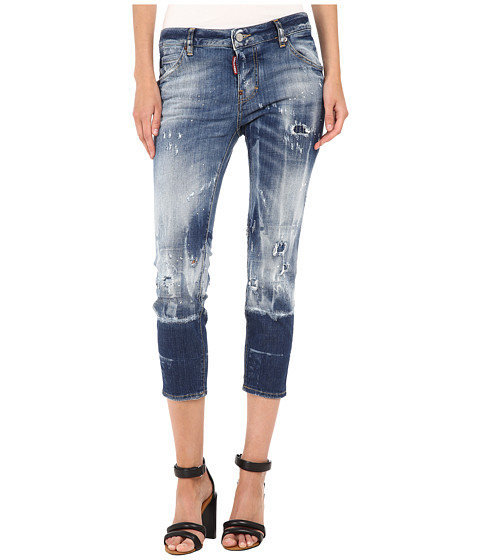 Imbracaminte Femei DSQUARED2 Glam Rock Jeans Blue