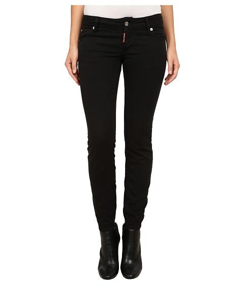 Imbracaminte Femei DSQUARED2 Twiggy Jeans Black