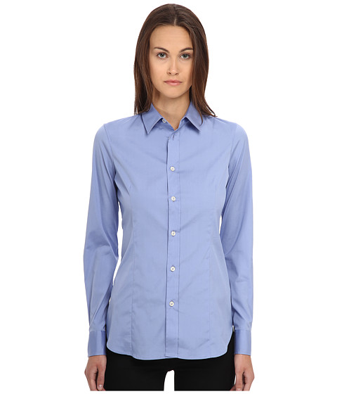 Imbracaminte Femei DSQUARED2 One-Button Classic Shirt Light Blue