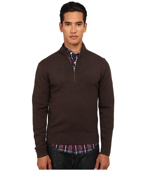 Imbracaminte Barbati Jack Spade Smithfield Half-Zip Sweater Brown