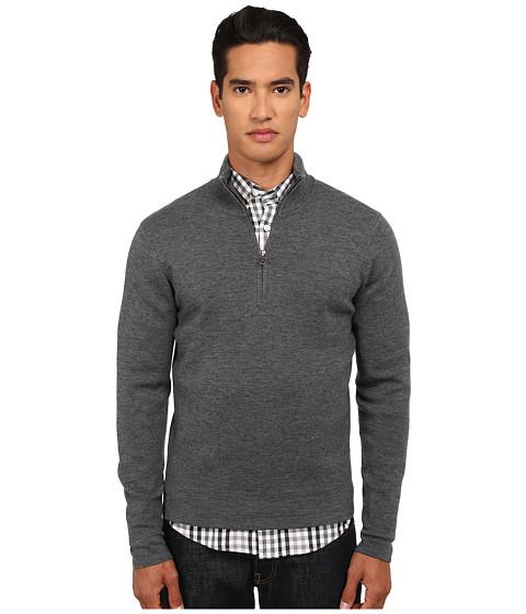 Imbracaminte Barbati Jack Spade Smithfield Half-Zip Sweater Charcoal