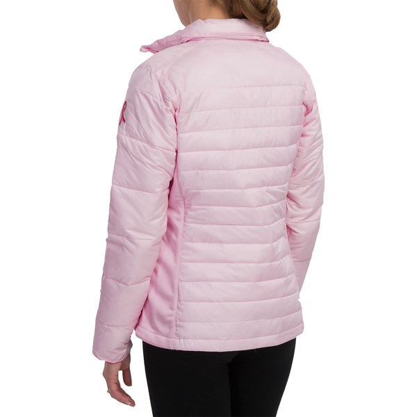 Imbracaminte Femei Columbia Tough in Pink Hybrid Jacket - Insulated ISLA (01)