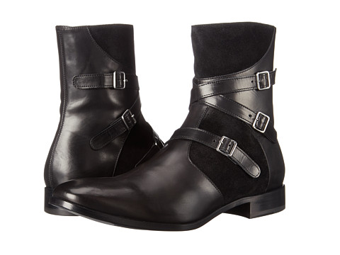 Incaltaminte Barbati Alexander McQueen Triple Buckle Ankle Boot Black