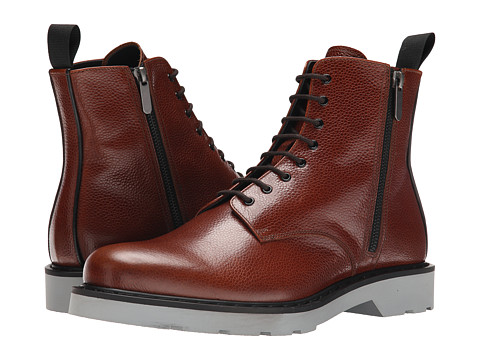 Incaltaminte Barbati Alexander McQueen Side Zip Boot EbonyBlack