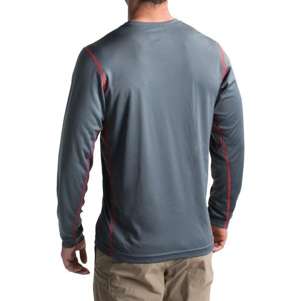 Imbracaminte Barbati Columbia Omni-Heat Omni-Wick II Base Layer Top - Long Sleeve GRAPHITE (01)