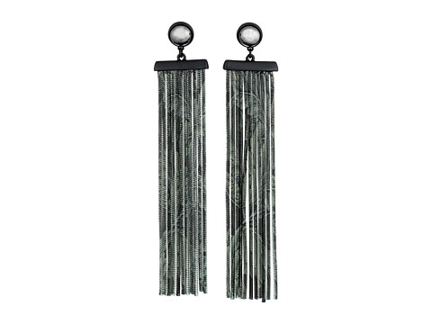 Bijuterii Femei Marc by Marc Jacobs How Riveting Acanthus Chain Earrings Elm Brown Multi