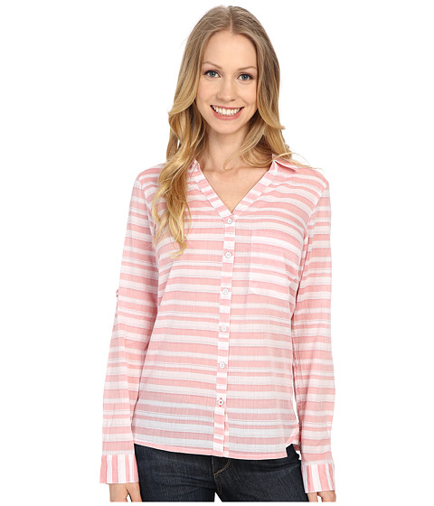 Imbracaminte Femei Columbia Early Tidetrade Long Sleeve Shirt Coral BLoom Stripe