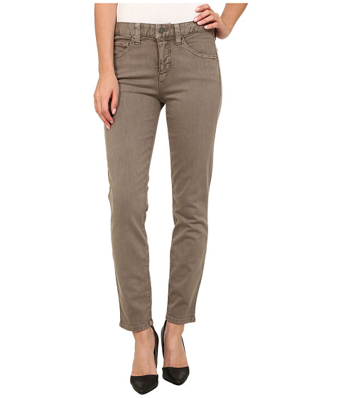 Imbracaminte Femei Miraclebody Jeans Sandra D Pigment Ankle Jeans in Stone Grey Stone Grey