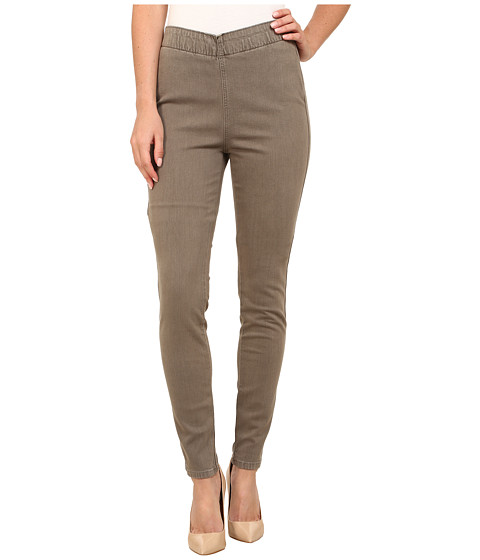 Imbracaminte Femei Miraclebody Jeans Thelma Pigment Dye Leggings Stone Grey