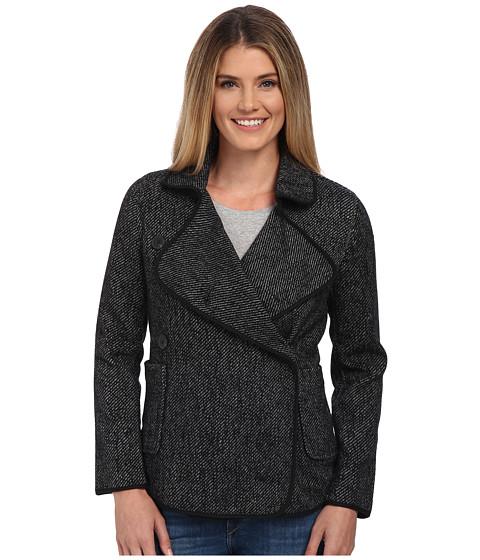 Imbracaminte Femei Lucky Brand Drape Front Wool Jacket Black Multi